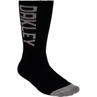 Meia Oakley Urban Crew Sock Cano Alto