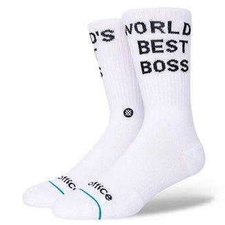 Meia Stance Worlds Best Boss Unissex