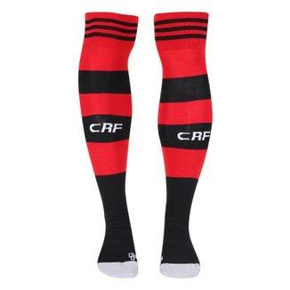 Meião Adidas 1 CR Flamengo 21/22 Masculino - Preto e Vermelho
