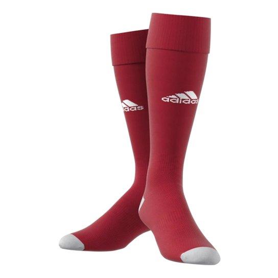 Meião Milano 16 Adidas Masculino - Vermelho+Branco
