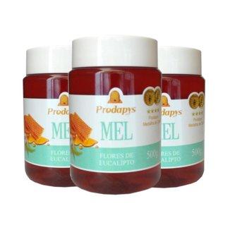 Mel Flores de Eucalipto 500g - Eleito o Melhor Mel do Mundo Kit com 3