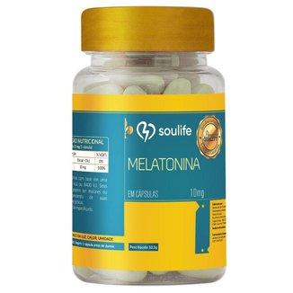 Melatonina 10mg 60 cápsulas Soulife