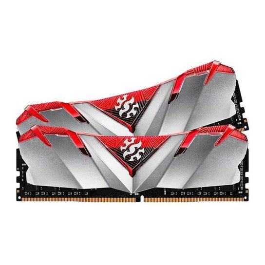 Memoria Adata XPG Gammix D30 16GB (2x8) DDR4 3000MHz Vermelha, AX4U300038G16A-DR30 - Cinza