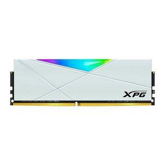 Memória Adata XPG Spectrix D50 RGB 8GB (1x8GB) DDR4 3200Mhz Branco, AX4U32008G16A-SW50