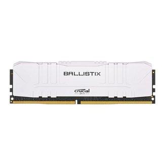 Memoria Crucial Ballistix 8GB (1x8) DDR4 3000Mhz Branco, BL8G30C15U4W