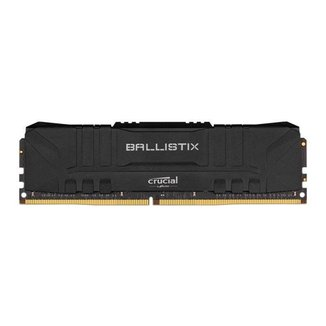 Memoria Crucial Ballistix 8GB (1x8) DDR4 3000Mhz Preta, BL8G30C15U4B