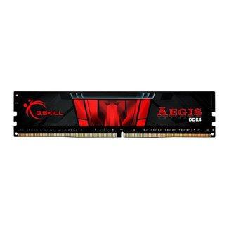 Memoria G.Skill Aegis 8GB (1x8) DDR4 2666Mhz Preta, F4-2666C19S-8GIS
