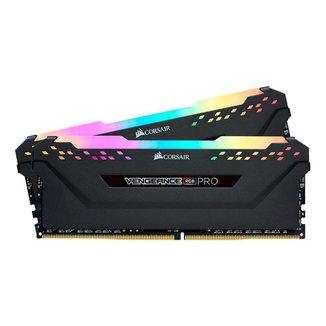 Memoria RAM Corsair Vengeance RGB PRO 16GB (2x8) DDR4 3600MHz C18 Preta, CMW16GX4M2D3600C18