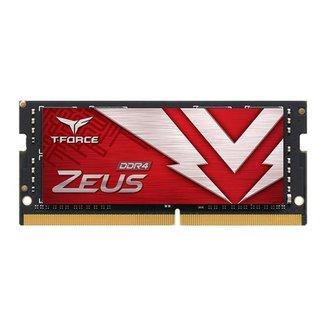 Memoria RAM Para Notebook Team Group T-Force Zeus 8GB (1x8) DDR4 2666MHz, TTZD48G2666HC19-S01