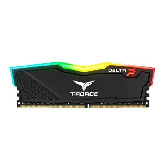Memoria Team Group T-Force Delta RGB 16GB (1X16) DDR4 3200MHz, TF12D416G3200HC16F01 - Preto