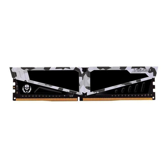 Memoria Team Group T-Force Vulcan Pichau 16GB (1x16) DDR4 3200MHz Branca RTB, TLPBD416G3200HC16C01 - Preto