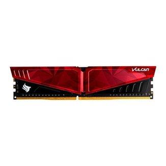 Memoria Team Group T-Force Vulcan Pichau 16GB (1x16) DDR4 3200MHz Vermelha, TLPRD416G3200HC16C01