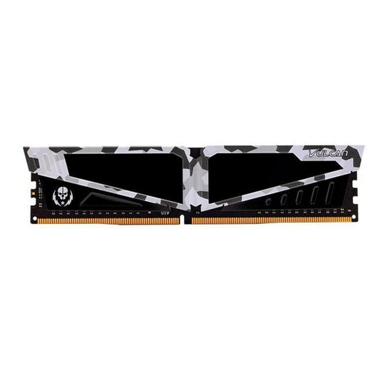 Memoria Team Group T-Force Vulcan Pichau 8GB (1x8) DDR4 2666MHz Branca, TLPBD48G2666HC18H01 - Branco
