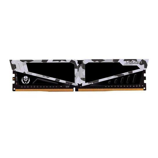 Memoria Team Group T-Force Vulcan Pichau 8GB (1x8) DDR4 3200MHz Branca, TLPBD48G3200HC16C01 - Branco