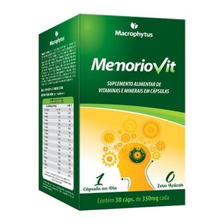 Memoriovit 30 cápsulas (polivitamínico)