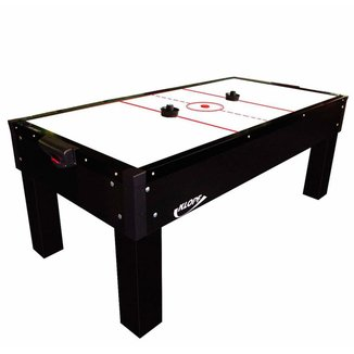 Mesa de Aero Hockey  Air Game Black Klopf Preta