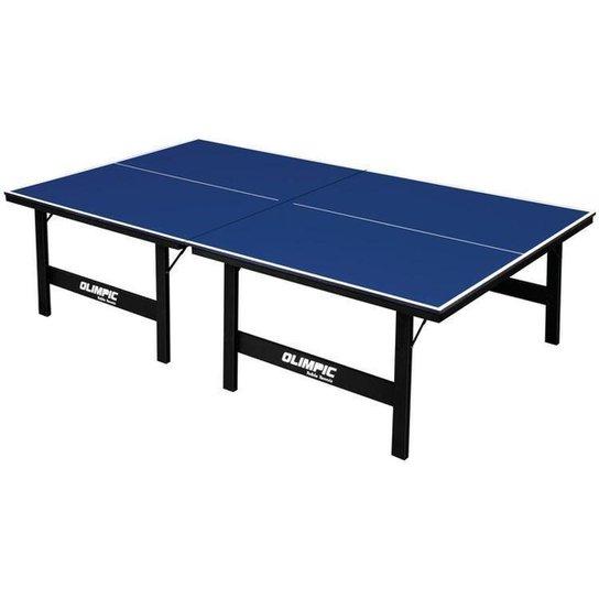 Mesa de Ping Pong Dobrável 12mm Klopf 1014 - Azul