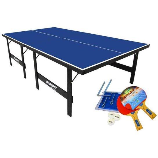 Mesa de Ping Pong Dobrável 15mm Klopf 1005 - Azul