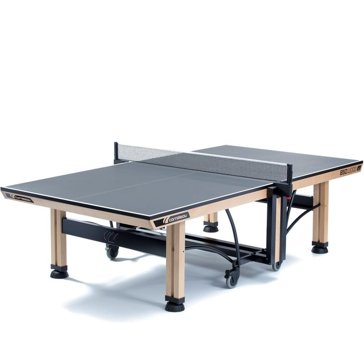 541c0a742 Mesa de Ping Pong   Tênis de Mesa Cornilleau Competição 850 Wood ITTF
