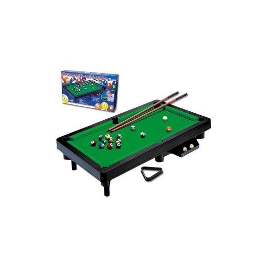 Mesa De Snooker Luxo - Bilhar - Sinuca - Braskit - Verde