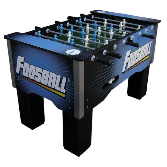 Mesa Foosball Embutido boneco Nylon - Azul