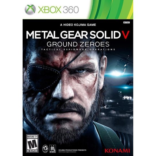 Metal Gear Solid V: Ground Zeroes - Xbox 360 - Incolor