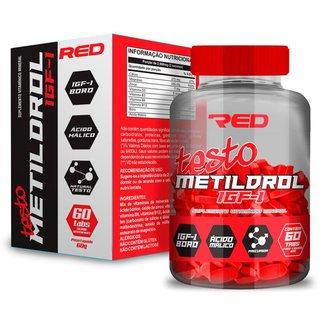 Metildrol (60 Tabs) Red Series - Aumento Libido | Melhor Ph