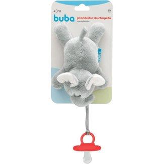 Meu Elefantinho Com Prendedor De Chupeta Buba Baby
