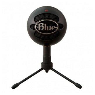 Microfone Condensador Blue Snowball Ice Black, 988-000067