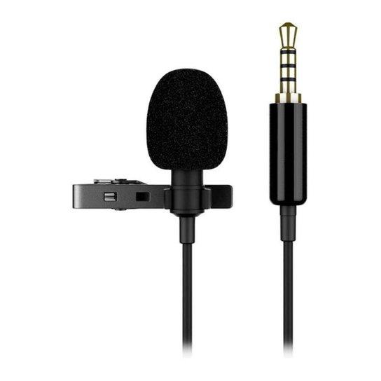 Microfone de Lapela Mancer, MCR-MLP-001 - Preto