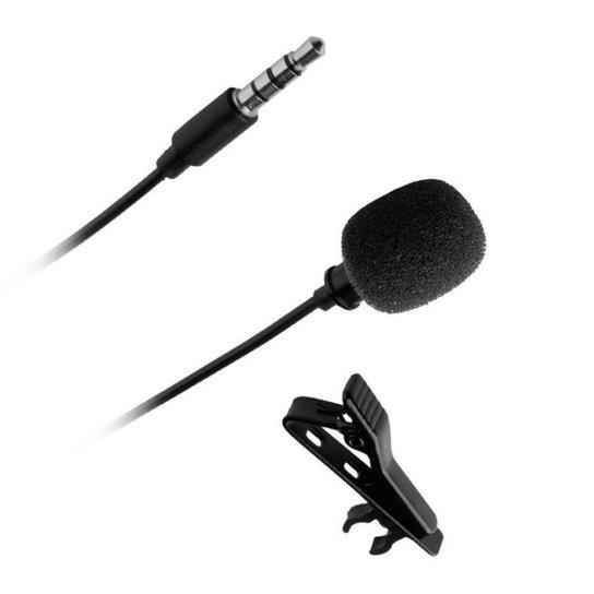 Microfone de Lapela Mancer, MCR-MLP-002 - Preto