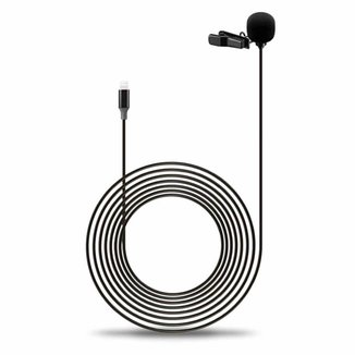 Microfone de Lapela para iPhone e iPad - Sairen S-Lav L1