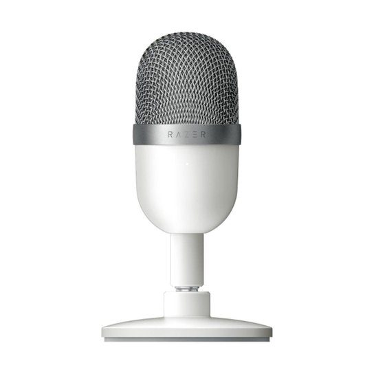 Microfone Razer Seiren Mini Mercury USB Branco - Branco