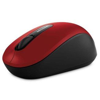 Microsoft Mouse Sem Fio Mobile Bluetooth Vermelho PN700018