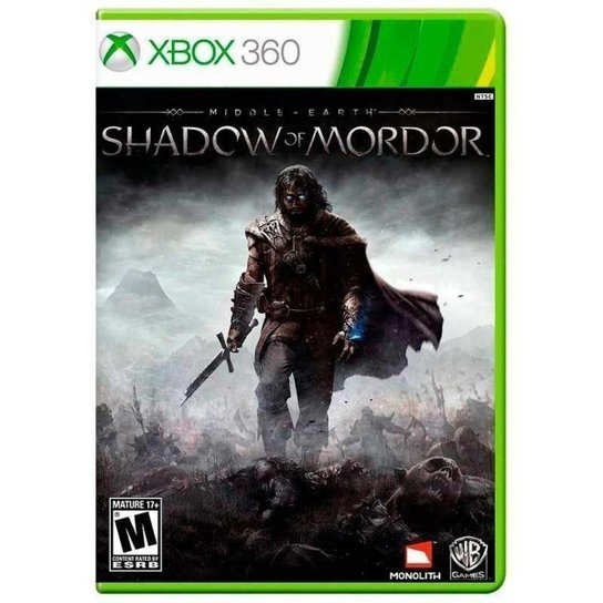 Middle Earth: Shadow of Mordor - Xbox 360 - Incolor