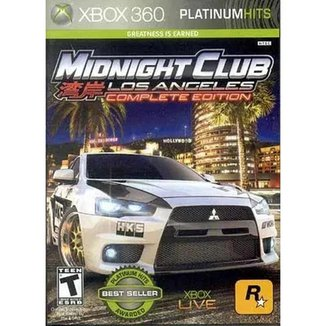 Midnight Club Los Angeles - Xbox-360