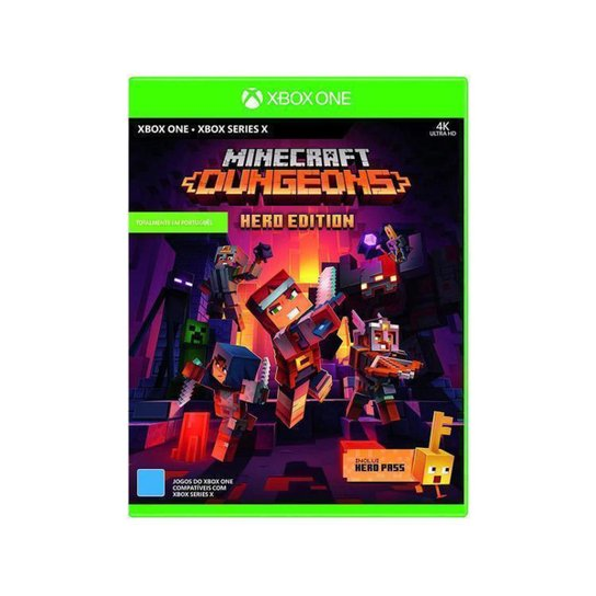 Minecraft Dungeons Hero Edition para Xbox One - Incolor