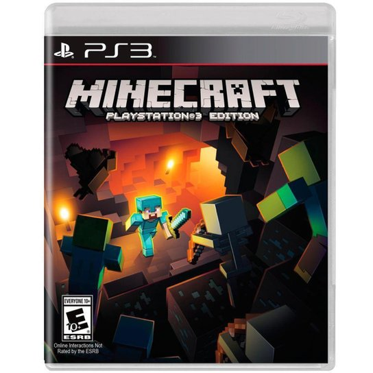 Minecraft - PS3 - Incolor