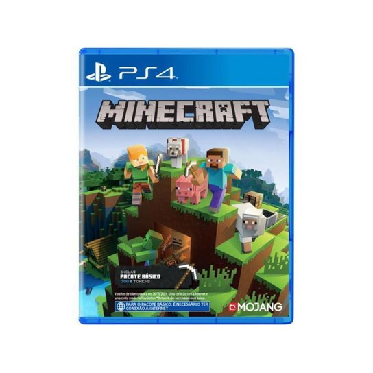 Minecraft Starter Collection para PS4 - Incolor