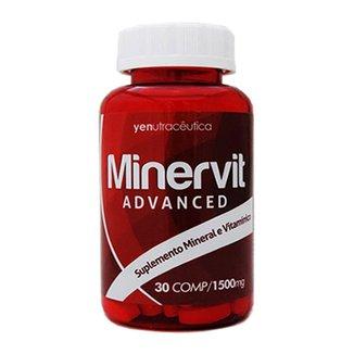 Minervit Advanced  Suplemento Mineral E Vitamínico  30 Comprimidos 1500Mg  Yen Nutracêutica