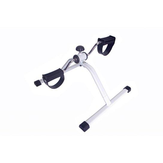 Mini Bicicleta Ergometrica cicloergometro Pedalinho Ginastica para pernas - Branco