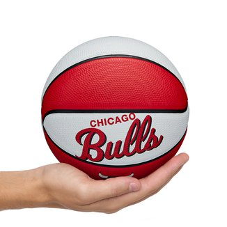 Mini Bola de Basquete NBA Retrô Chicago Bulls Wilson #3