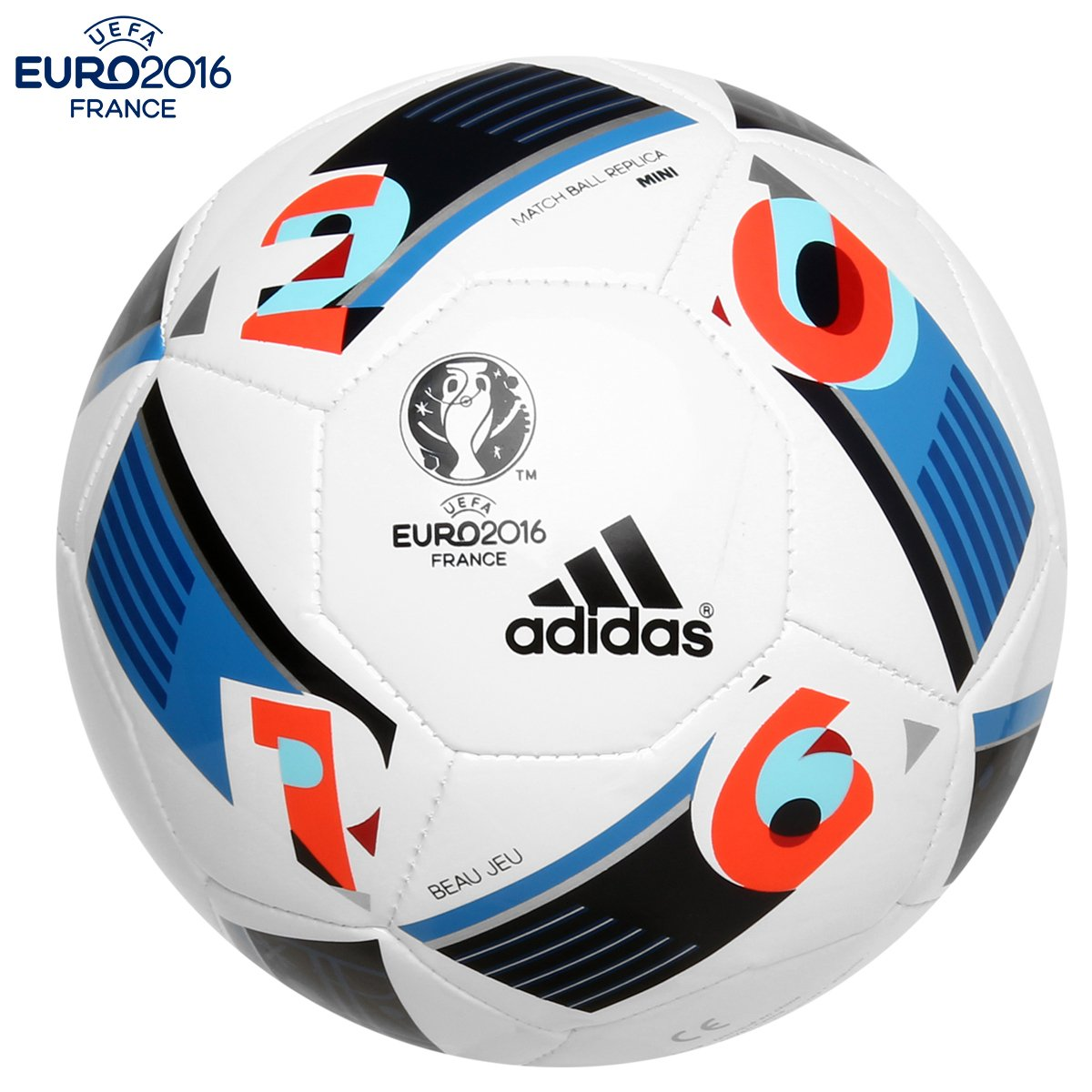 64934f838d Mini Bola Futebol Adidas Euro 2016 - Compre Agora