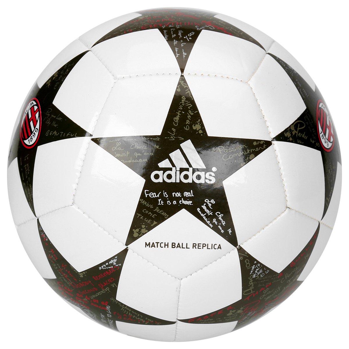 Mini Bola Futebol Campo Milan Adidas UEFA Finale 2016 - Compre Agora ... b5a44382e1847