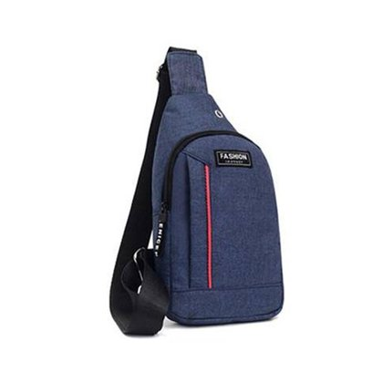 Mini Bolsa Mochila Transversal Fashion Instinct Alça Única Unissex Cadernos Tablet Smartphone Vários