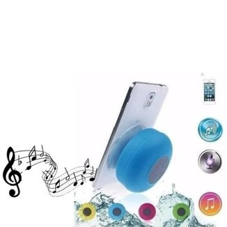 Mini Caixa De Som Á Prova D'água Banho Bluetooth Piscina