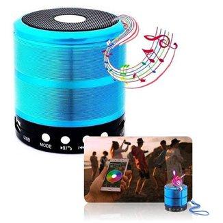 Mini Caixa De Som Bluetooth Fm Micro Sd USB Academia Festa