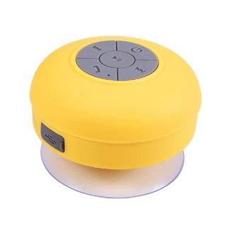 Mini-Caixa de Som RESISTENTE à Água BTS-06 - Amarela