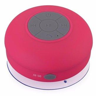 Mini-Caixa de Som RESISTENTE à Água BTS-06 - rosa