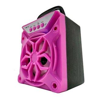 Mini Caixa de Som Speaker Bluetooth Portátil Rádio Entrada Pendrive e Micro SD